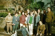Group at Wordsworth Cottage 1966